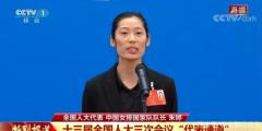 """中国婷亮相两会MVP次数并肩郎平 康师傅将继续""""一路婷你"""""""